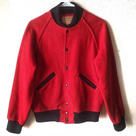 0099cc241 Vintage 1950s women's red letterman jacket